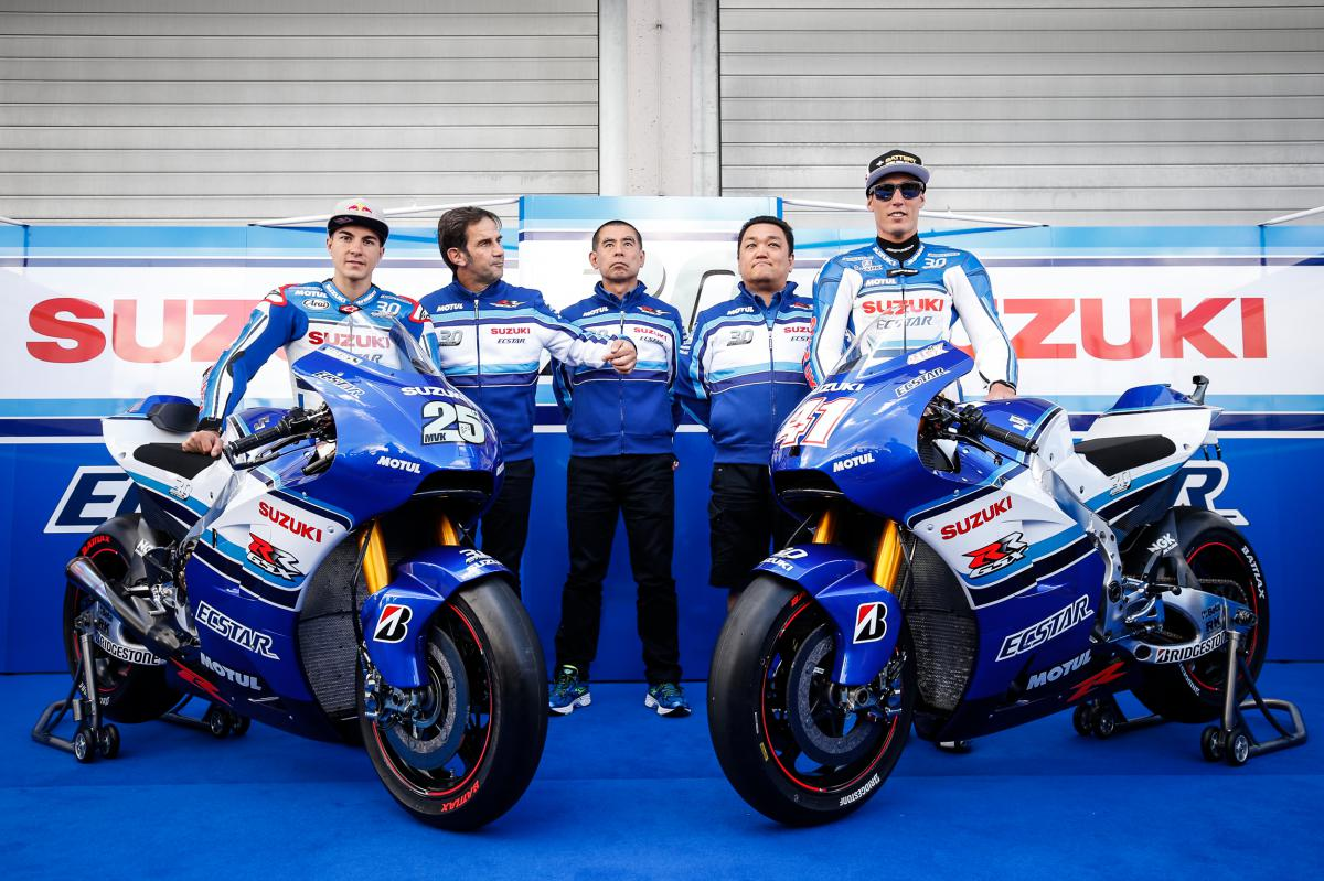 Team Suzuki Ecstar to race in iconic Suzuki colours | MotoGP™