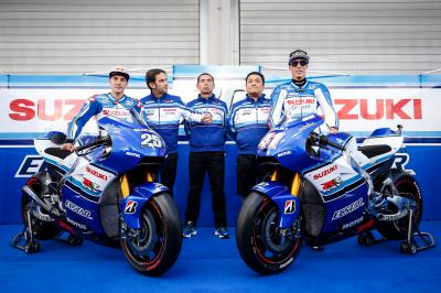 Team Suzuki Ecstar to race in iconic Suzuki colours