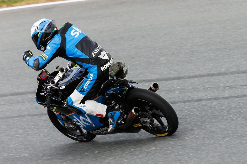 Moto3 Action, German GP FP2