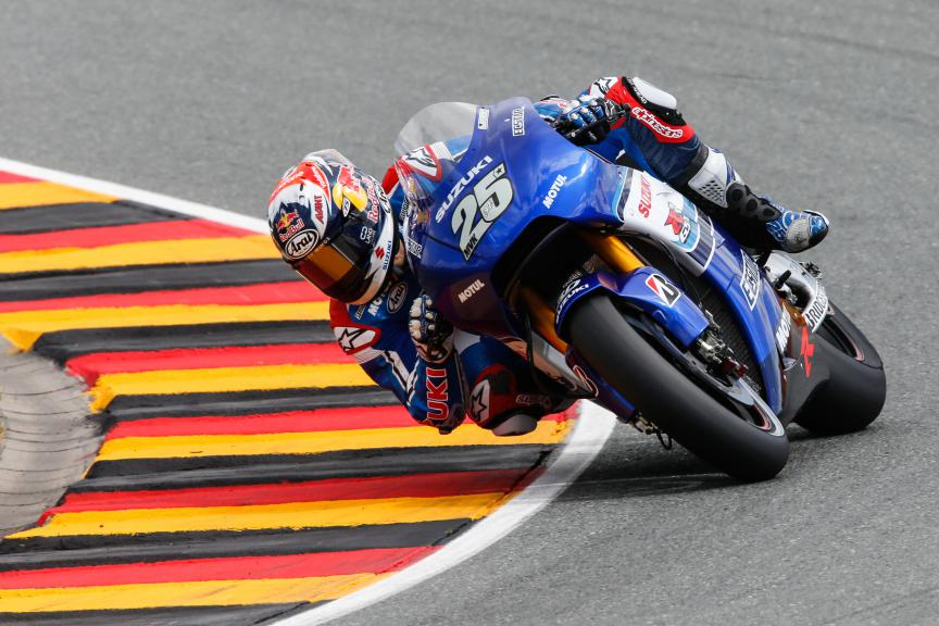 Maverick Viñales, Team Ecstar Suzuki, German GP FP2