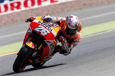 "Pedrosa: ""We tried some different bike setups and tyres"""