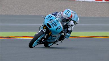 Kent finishes the day on top of the Moto3™ timesheets