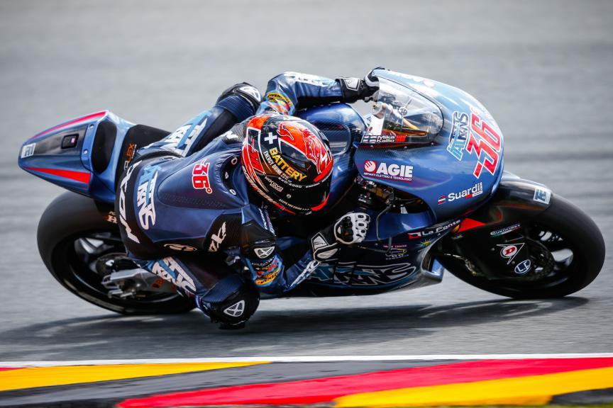 Mika Kallio, Italtrans Racing Team, German GP FP2