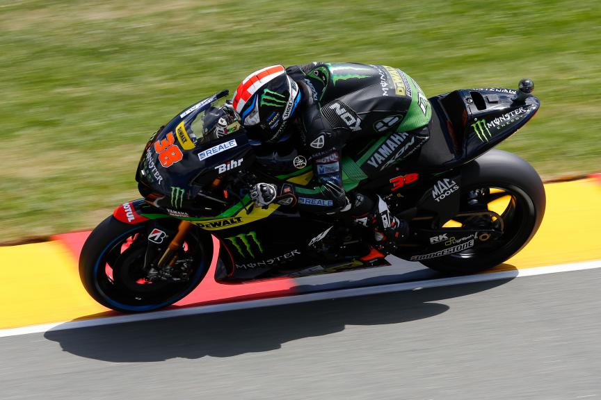 Bradley SMith, Monster Yamaha Tech 3, German GP FP2