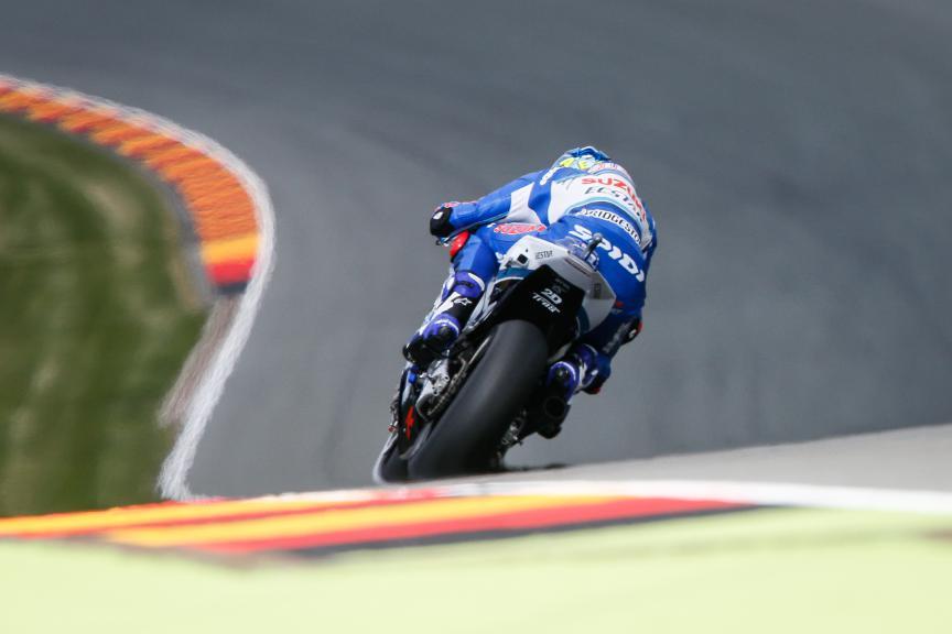 Aleix Espargaro, Team Suzuki Ecstar, German GP FP2
