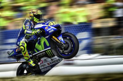 Rossi mit Reifenexperimenten am Sachsenring