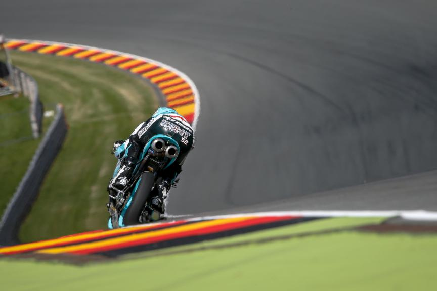 Danny Kent, Leopard Racing, FP1 German GP