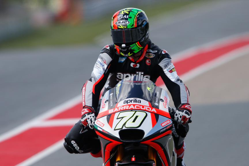 Michael Laverty, Aprilia Racing Team Gresini, German GP FP2