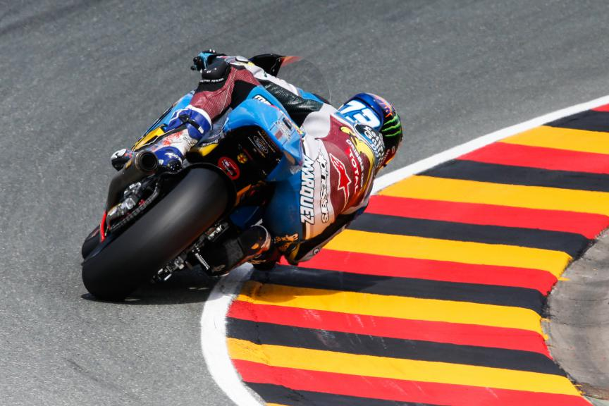 Moto2 Action, German GP FP2