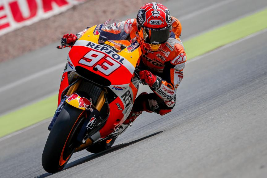 Marc Marquez, Repsol Honda Team, German GP FP2