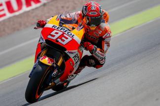 Márquez, primero de nuevo en la FP2 de MotoGP™