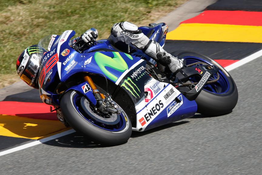 Jorge Lorenzo, Movistar Yamaha MotoGP, German GP FP2