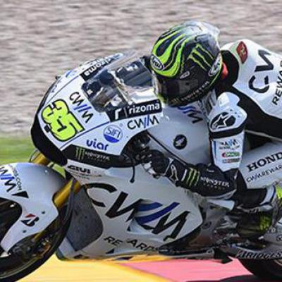 "Crutchlow: ""I did my fast lap with 32 laps on the tyre"""