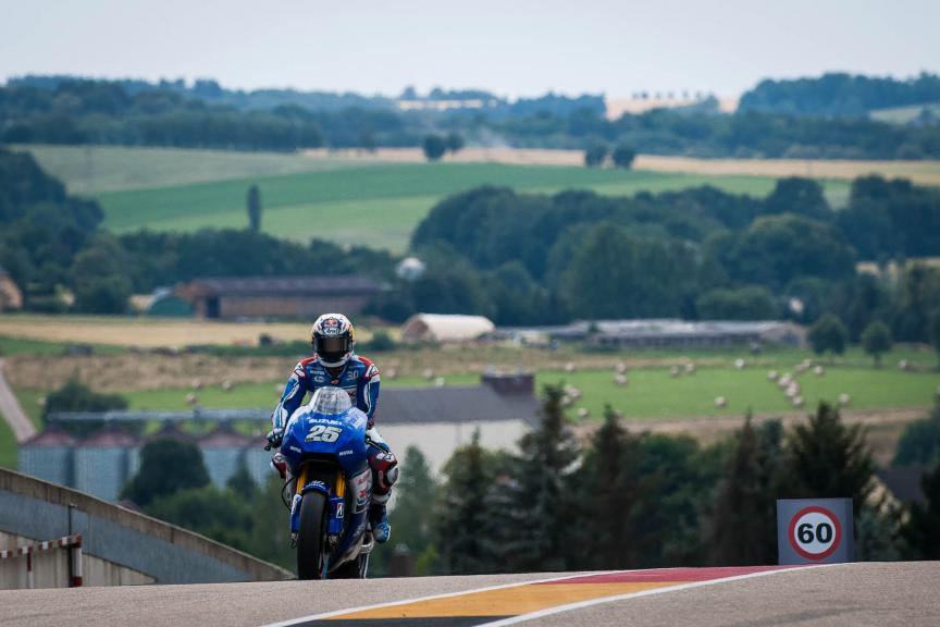 Maverick Viñales, Team Ecstar Suzuki, German GP © 2015 Scott Jones, PHOTO.GP