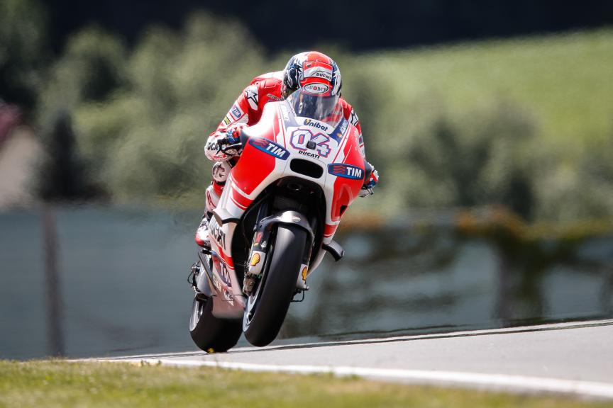Andrea Dovizioso, Ducati Team, German GP Q2