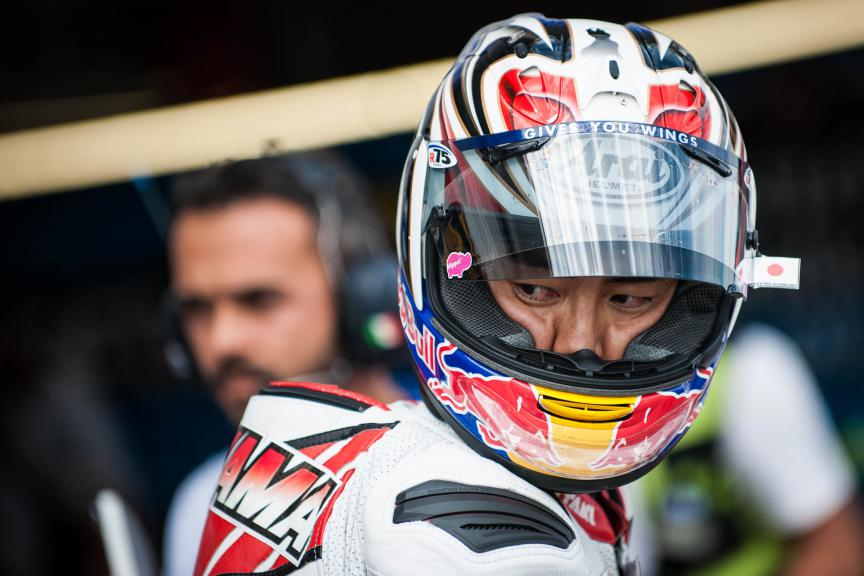 Hiroshi Aoyama, AB Motoracing, German GP © 2015 Scott Jones, PHOTO.GP