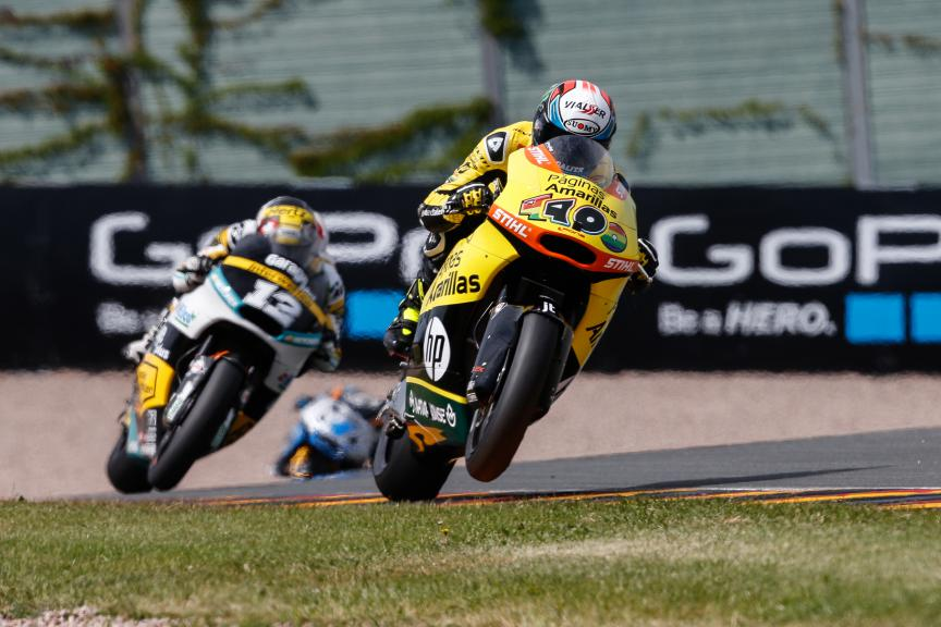 Moto2 Action, German GP QP