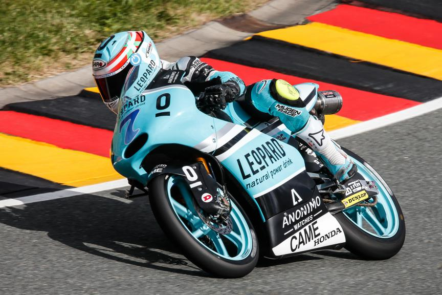Efren Vazquez, Leopard Racing, German GP QP