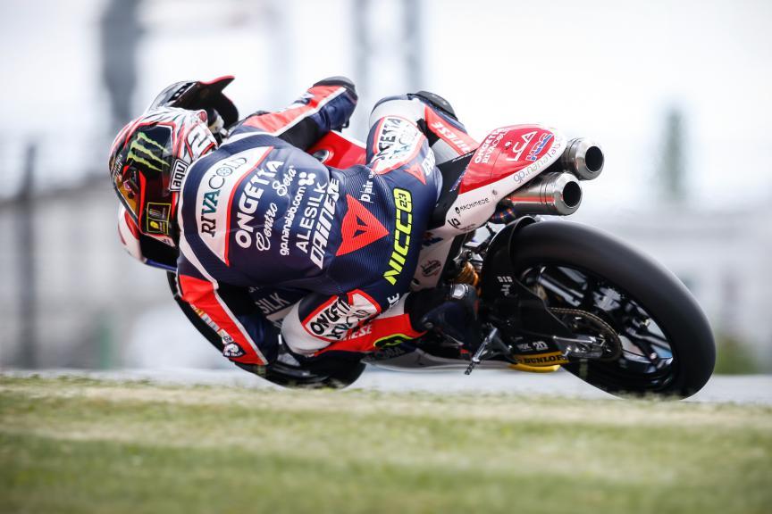 Niccolò Antonelli, Ongetta-rivacold, German GP QP