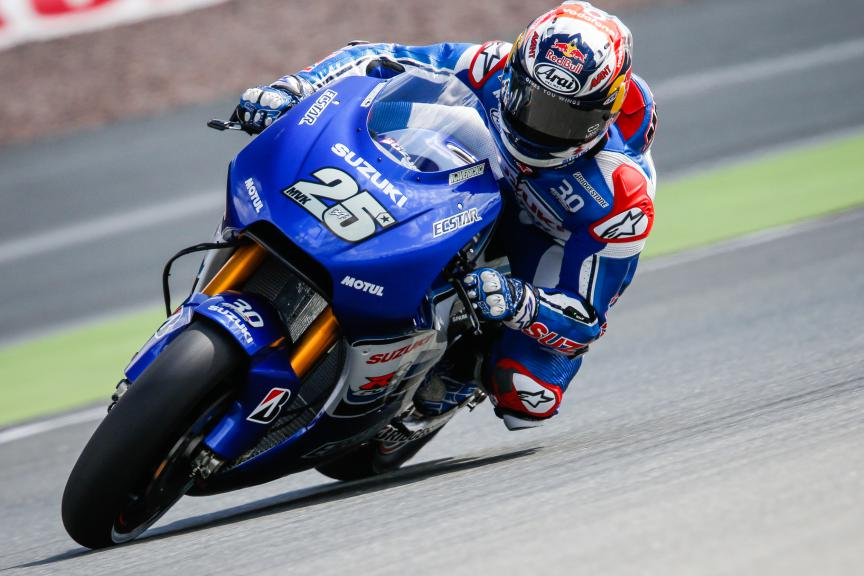 Maverick Viñales, Team Ecstar Suzuki, German GP Q1