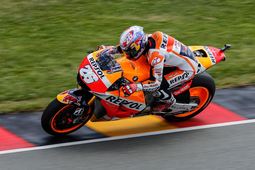 Dani Pedrosa, Repsol Honda Team, German GP Q2