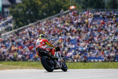 "Iannone: ""My GP15 tends to slide around"""