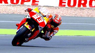 Seis poles y cinco victorias de Márquez en Alemania