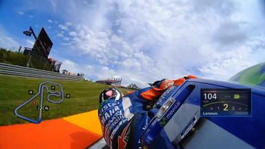 OnBoard avec Lorenzo en qualifications