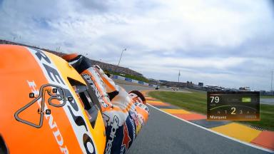Go OnBoard for Marquez's record-breaking lap