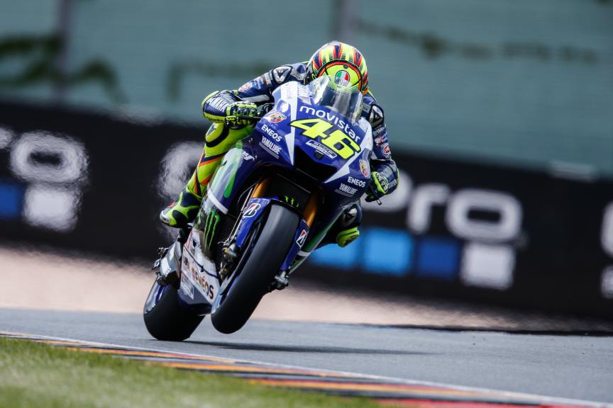 Valentino Rossi, Movistar Yamaha MotoGP, German GP Q2
