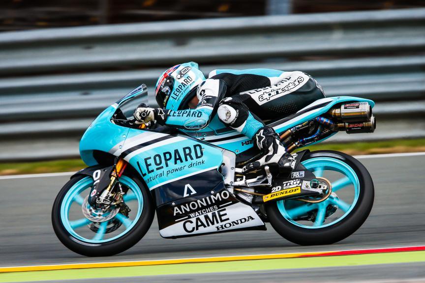 Danny Kent, Leopard Racing, German GP QP