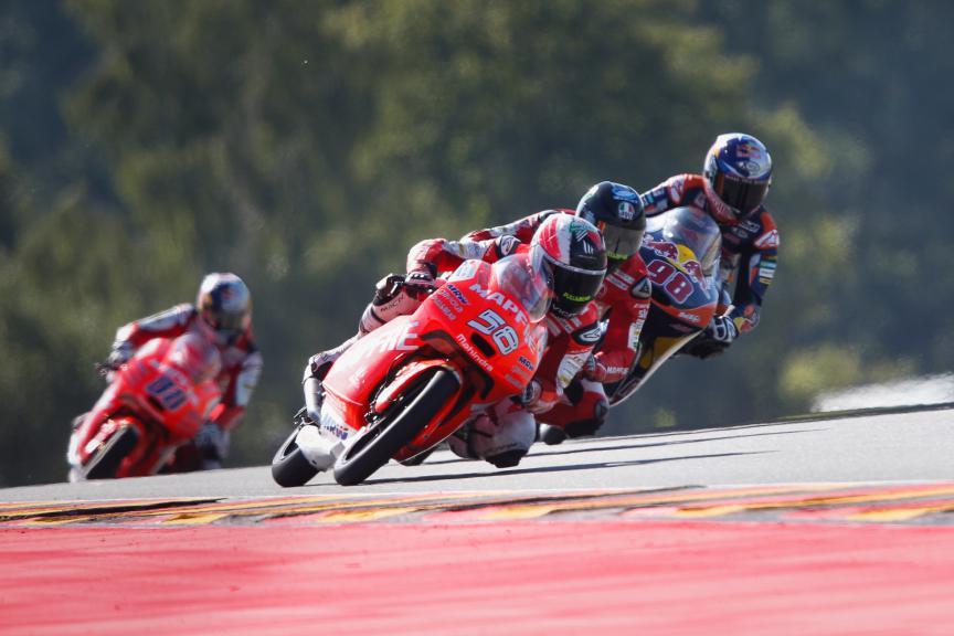 Moto3 Action, German GP QP