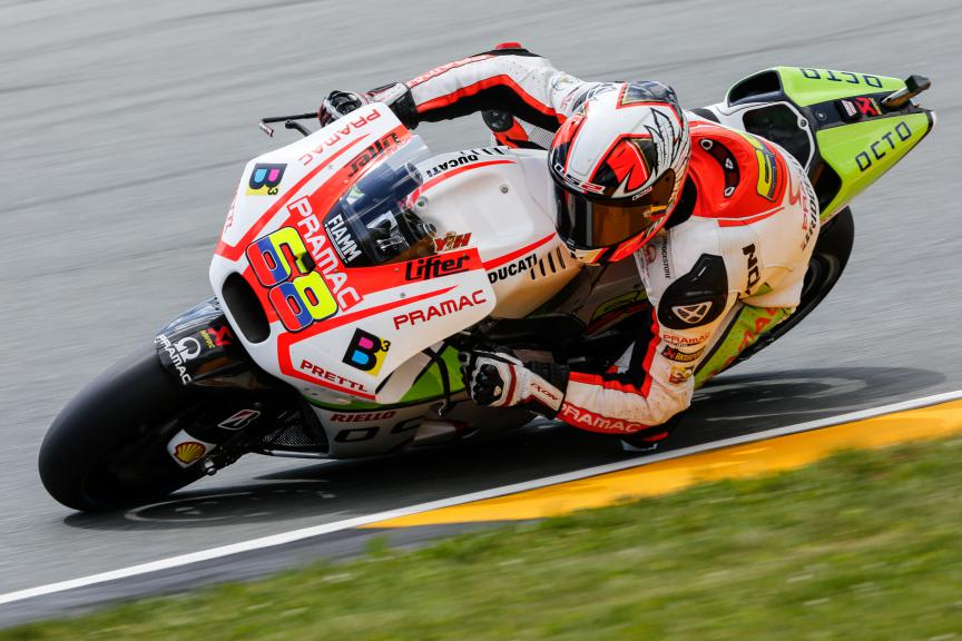 Yonny Hernandez, Pramac Racing, German GP Q1