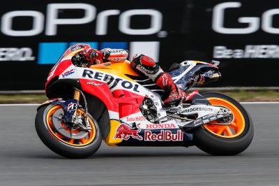 Marquez secures pole for German GP