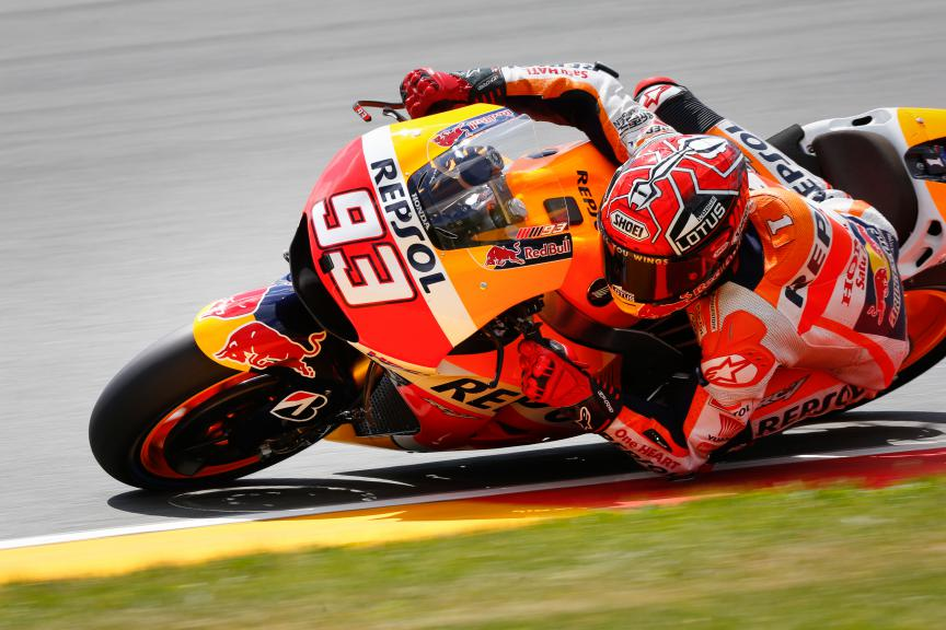 Marc Marquez, Repsol Honda Team, German GP FP3