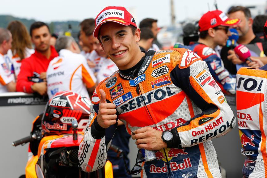 Marc Marquez, Repsol Honda Team, German GP Q2