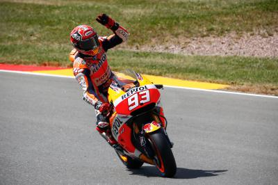 The pendulum swings back to Marquez