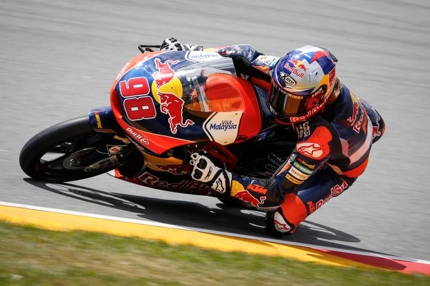 Karel Hanika, Red Bull KTM Ajo, German GP QP