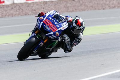 Lorenzo: «En esta pista sufrimos para ser competitivos»