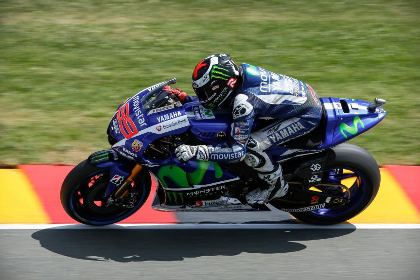 Jorge Lorenzo, Movistar Yamaha MotoGP, German GP FP3