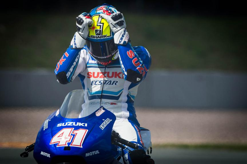 Aleix Espargaro, Team Suzuki Ecstar, German GP © 2015 Scott Jones, PHOTO.GP