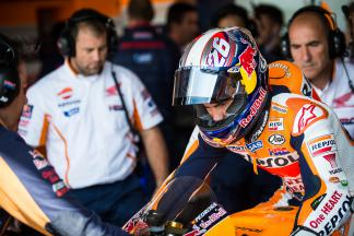 """Pedrosa: """"You benefit a lot from being at the front"""""""