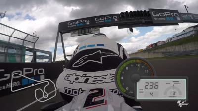 GoPro™ OnBoard lap of the Sachsenring