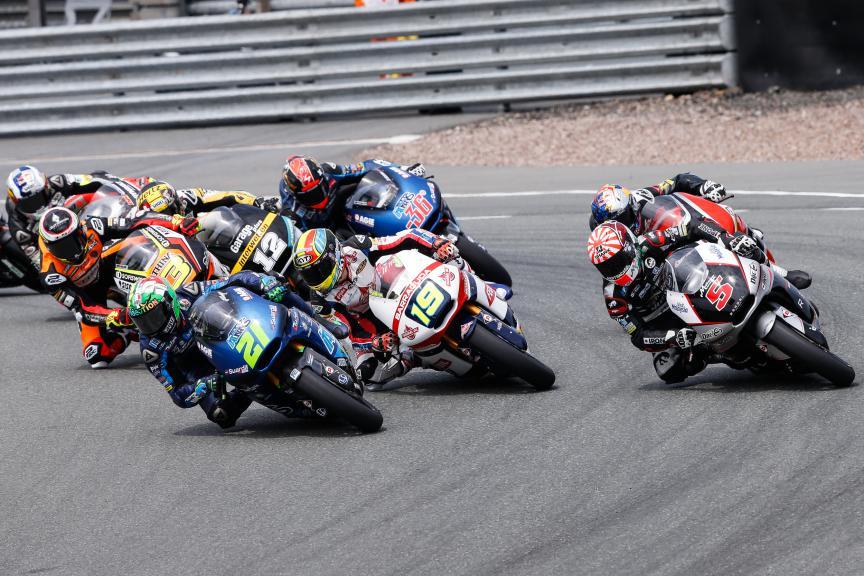 Moto2 Action, German GP RACE