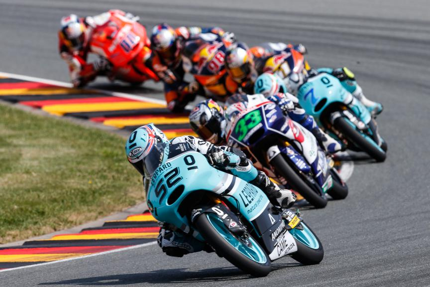 Moto3 Action, German GP RACE