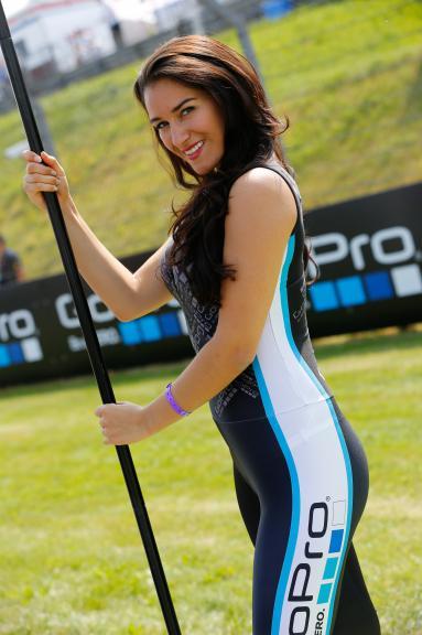 Paddock Girl, Go Pro Motorrad Grand Prix Deutschland