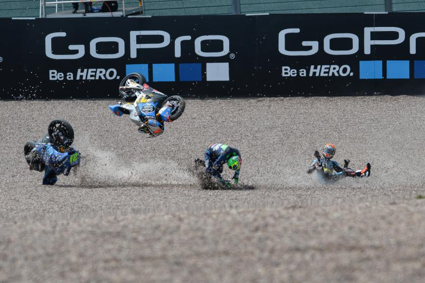 Moto2 Action, German GP RACE