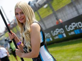 Paddock Girls Go Pro Motorrad Grand Prix Deutschland