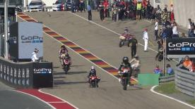 The full Warm Up session for the Moto3™ World Championship at the German GP.