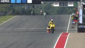 The full Warm Up session for the Moto2™ World Championship at the German GP.
